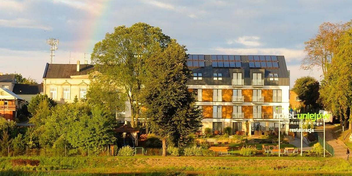 poznaj Uniejów hotel eco active