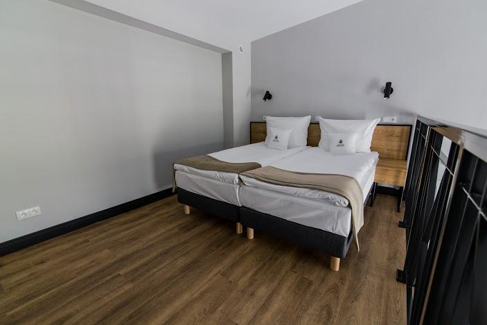 Pokój z antresolą-część sypialniana