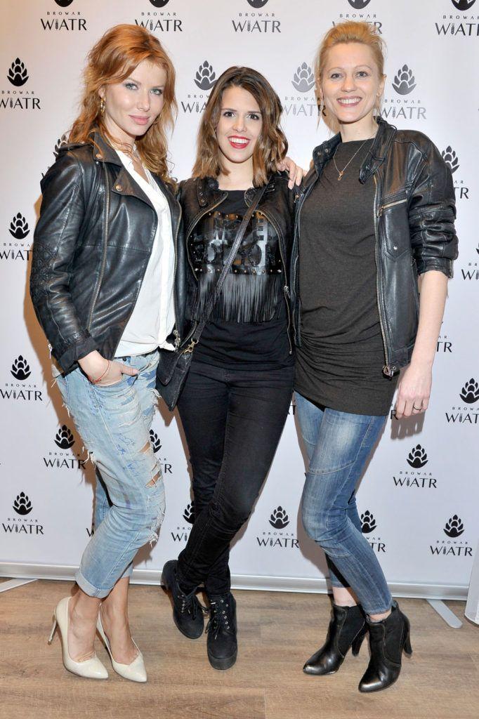 Agata Załęcka, Monika Mazur, Lea Oleksiak   fot. AKPA